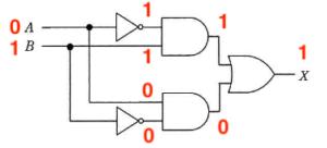 論理回路図の入力パターン2