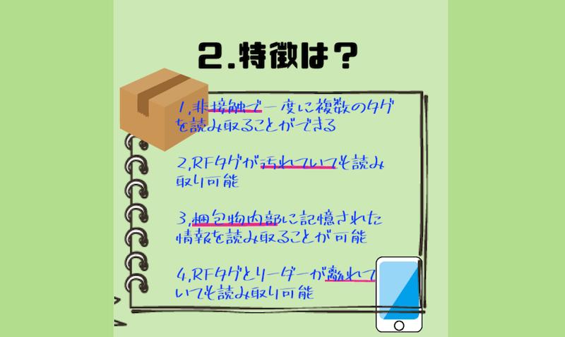 RFID特徴