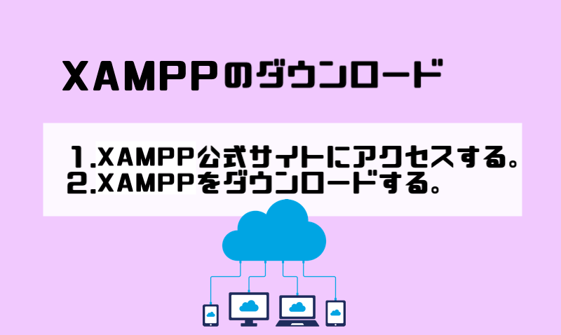 2.XAMPPのダウンロード (1)